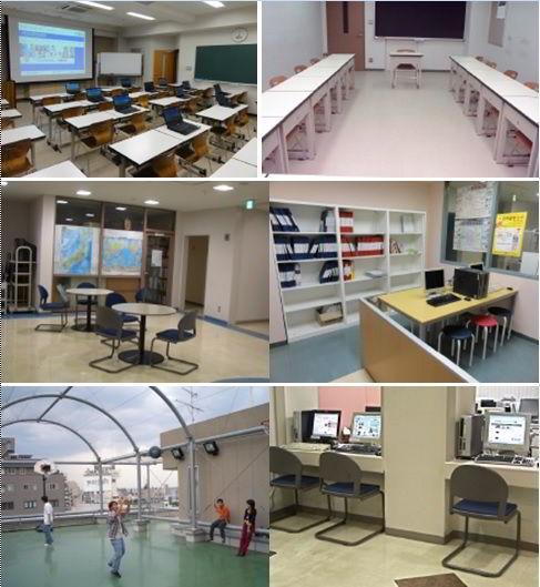 Cơ sở vật chất học viện YMCA