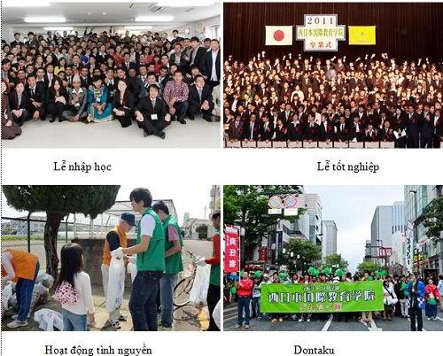 Hoạt động trường Tokyo Nakano