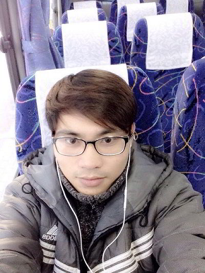 Chu Văn Chiến – du học sinh tại Nhật Bản