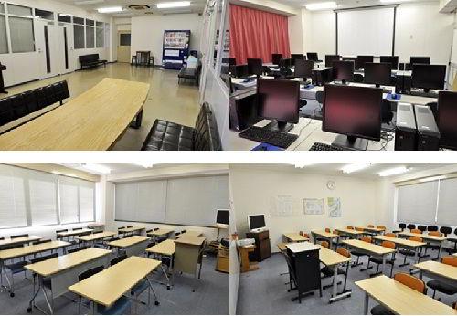 Phòng học tại Hiroshima