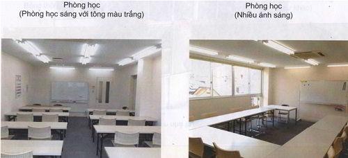 Cơ sở vật chất trường Nhật ngữ Makuhari