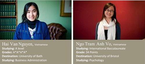 Những sinh viên Việt Nam du học Anh có thành tích xuất sắc tại CATS College