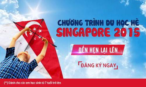 Du học hè 2015 tại Singapore