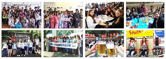 Hoạt động ngoại khóa của sinh viên trường Nhật ngữ quốc tế Sapporo