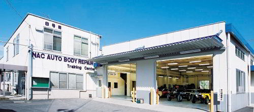 Nhà trưng bày mẫu động cơ của trường Nakanihon