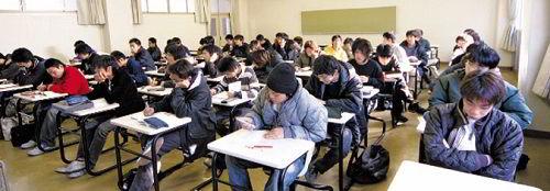 Phòng học lý thuyết Trường Cao đẳng công nghệ ô tô Nakanihon