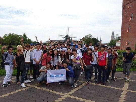 Sinh viên du học Nhật Bản tại Học viện ngôn ngữ quốc tế J-ILA