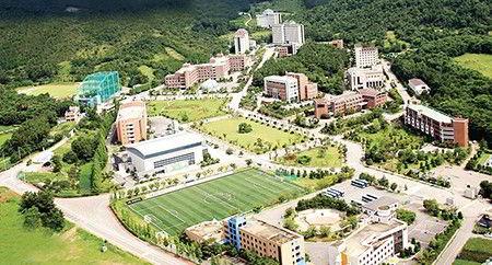 Khuôn viên trường Đại học Howon