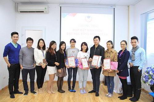 Buổi gặp gỡ đại diện học sinh từng nhận học bổng từ Quỹ khuyến học New Ocean.