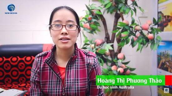 Visa du học Úc của Hoàng Thị Phương Thảo