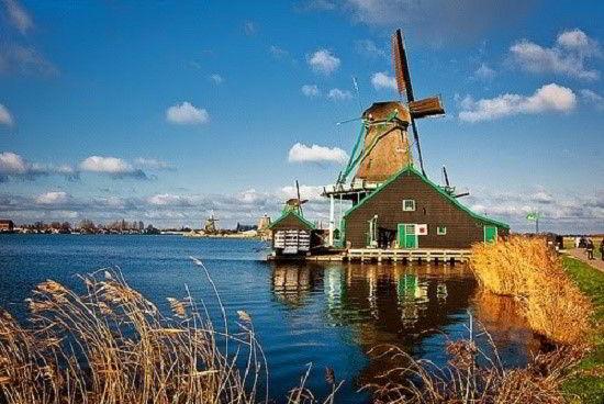 Khí hậu – Tự nhiên - Đất nước Hà Lan.