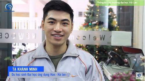 New Ocean chúc mừng Khánh Minh nhận visa du học Hà Lan