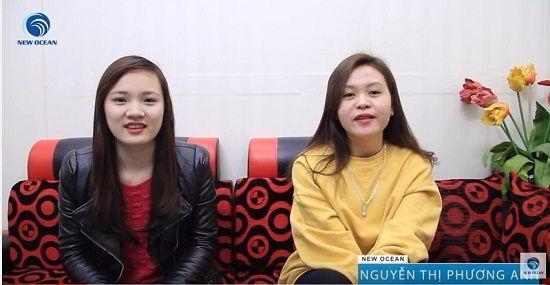 Chúc mừng Ngọc Châu và Phương Anh nhận visa du học Hàn Quốc