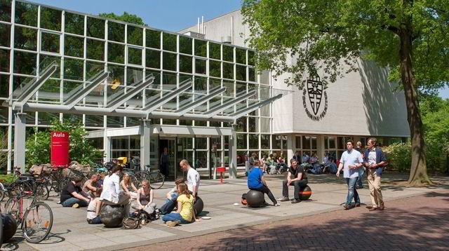 Một góc trường Đại học Nghiên cứu Radboud