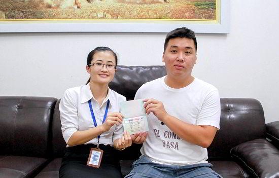 Lê Đức Minh nhận Visa du học Canada chương trình CES
