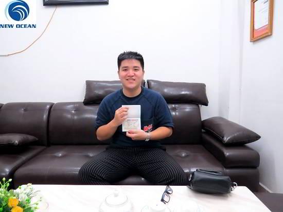 Phạm Đức Thịnh nhận visa du học Canada, kỳ học tháng 10/2016