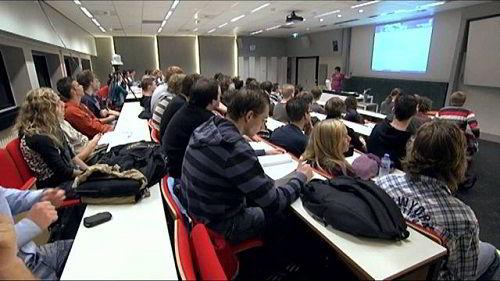 Sinh viên ở Hà Lan