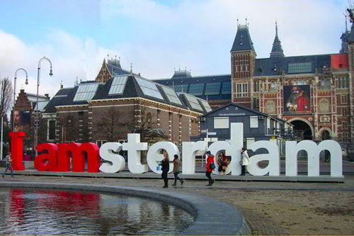 Thành phố Amterdam Hà Lan