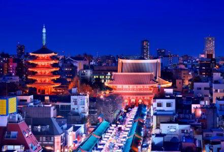 Asakusa Tokyo Japan Top Universities