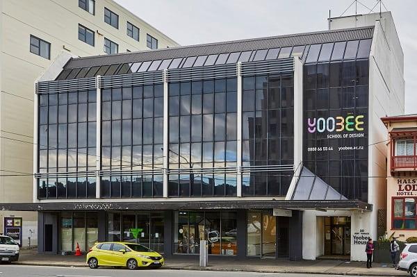 Trường Thiết kế Yoobee cơ sở Wellington