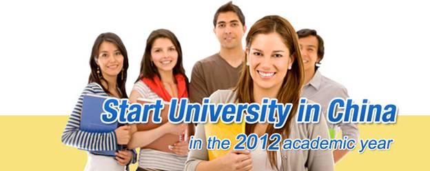 Du học tự túc vào các trường đại học Trung Quốc
