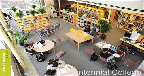 Thư viện trường Cao đẳng Centennial