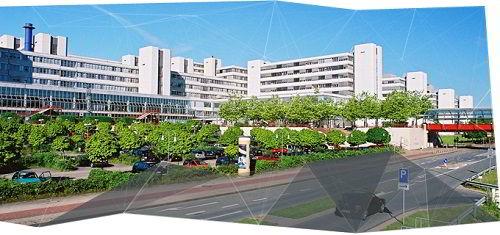 Khuôn viên trường đại học Bielefeld