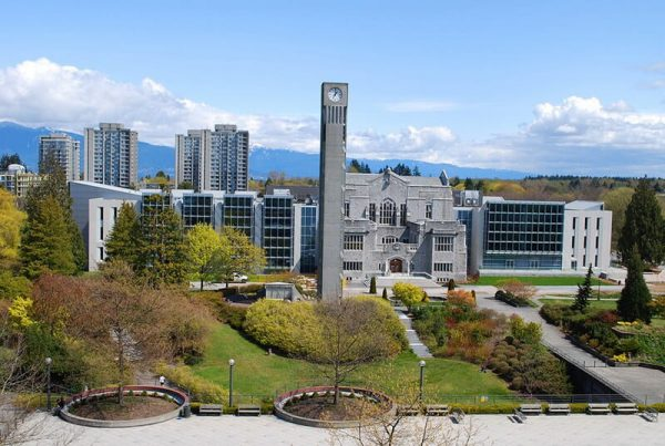 Toàn cảnh trường đại học British Columbia