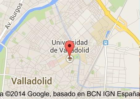 Bản đồ đại học Valladolid Tây Ban Nha