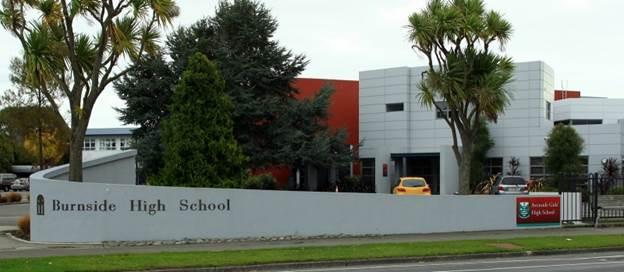 Khu học xá của trường trung học Burnside