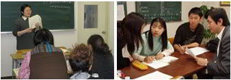 Lớp học tại học viện Nhật ngữ Asahi Tokyo