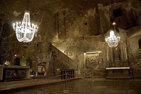 Mỏ muối Wieliczka