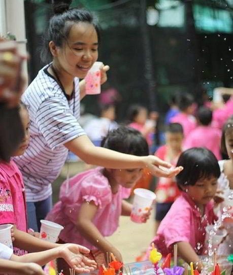 Nguyễn Thị Ngọc Dung trong các hoạt động tình nguyện