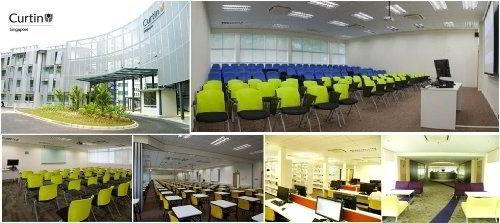 Hệ thống phòng học tại Curtin singapore