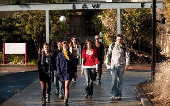 Sinh viên tại đại học Tasmania