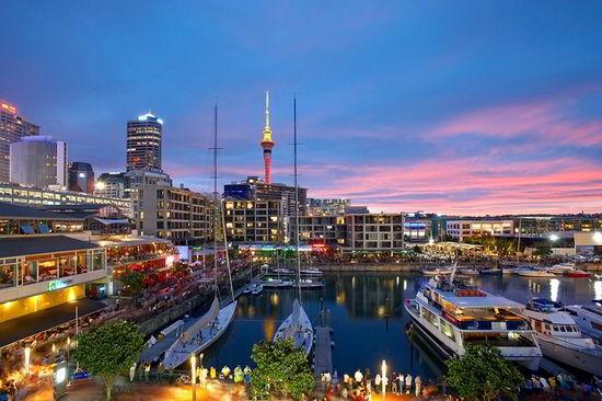 Auckland - thành phố của những cánh buồm