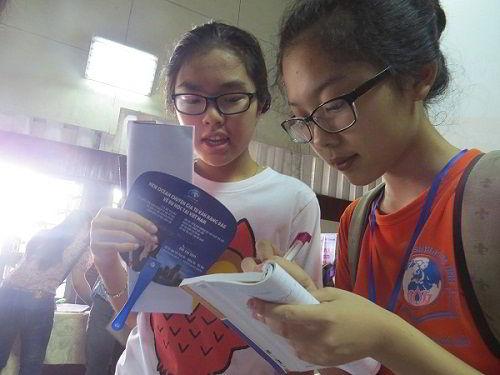 Các bạn học sinh rất mong muốn tìm hiểu chương trình du học từ New Ocean