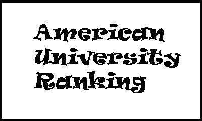 Xếp hạng các trường Đại học tốt nhất của Mỹ