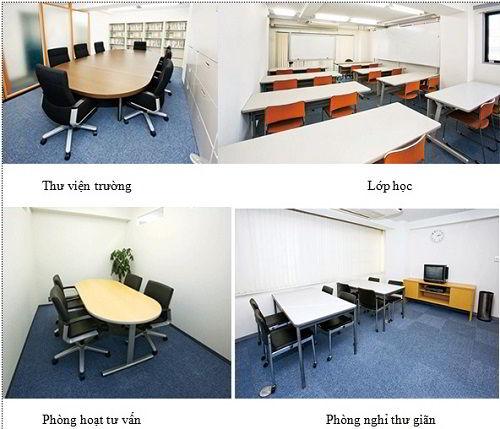 Cơ sở vật chất trường Nhật ngữ An Language Narimasu