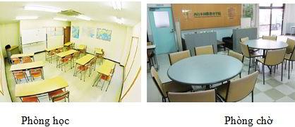 Lớp học tại trường Tokyo Nakano