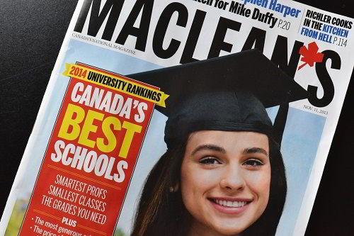 Canada University Ranking 2014
