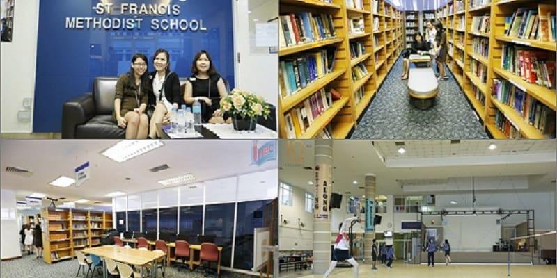 Các cơ sở vật chất tuyệt vời của Trường ST Francis Methodist