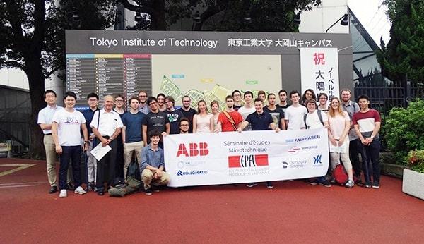 Sinh viên EPFL tham gia chương trình trao đổi sinh tại Nhật Bản