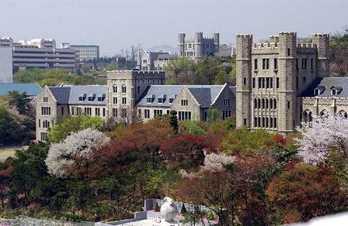 Khuôn viên chính đại học Korea