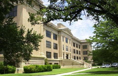 Khuôn viên trường đại học West Texas A&M