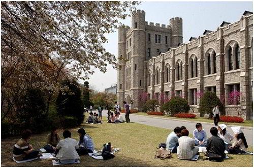 Campus đại học Korea