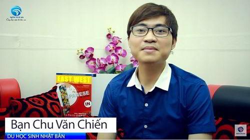 New Ocean Chúc Mừng Bạn Chu Văn Chiến Nhận Visa Du Học Nhật Bản