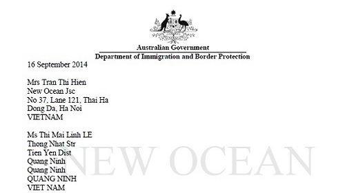 Chúc Mừng Bạn Lê Thi Mai Linh Nhận Visa Du Học Úc
