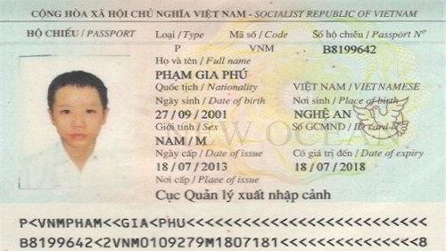 Phạm Gia Phú Nhận Visa Du Học Úc