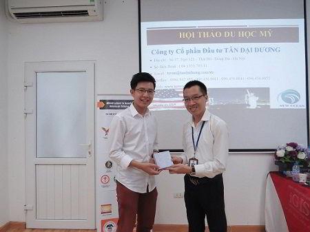 Bạn Hoàng Nghĩa Phong – Cựu du học sinh Mỹ
